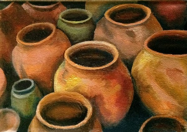God's Pots from Art By Candi K