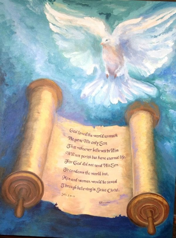Law Versus Grace from Art By Candi K